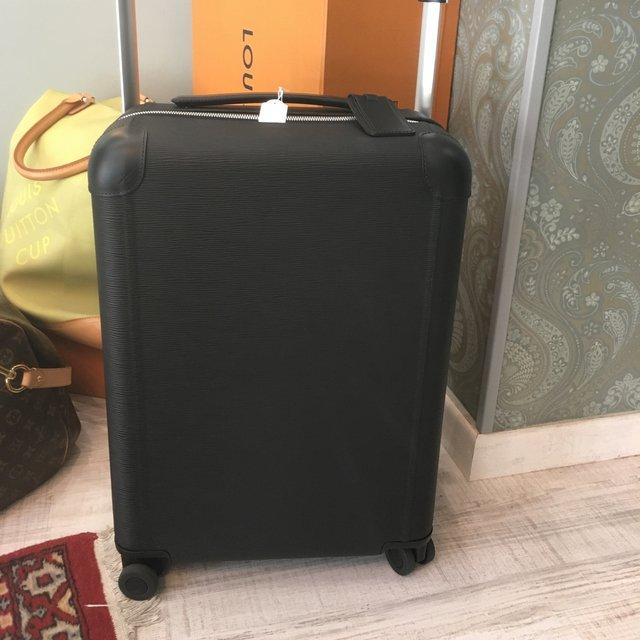 84eb0cdef4 Louis Vuitton trolley horizon 50 nero in epi, mai usato, regalo non gradito  anno 2017 cin scatola e dust, retail 2500€